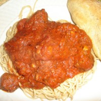 Sausage and Pepper Sauce
