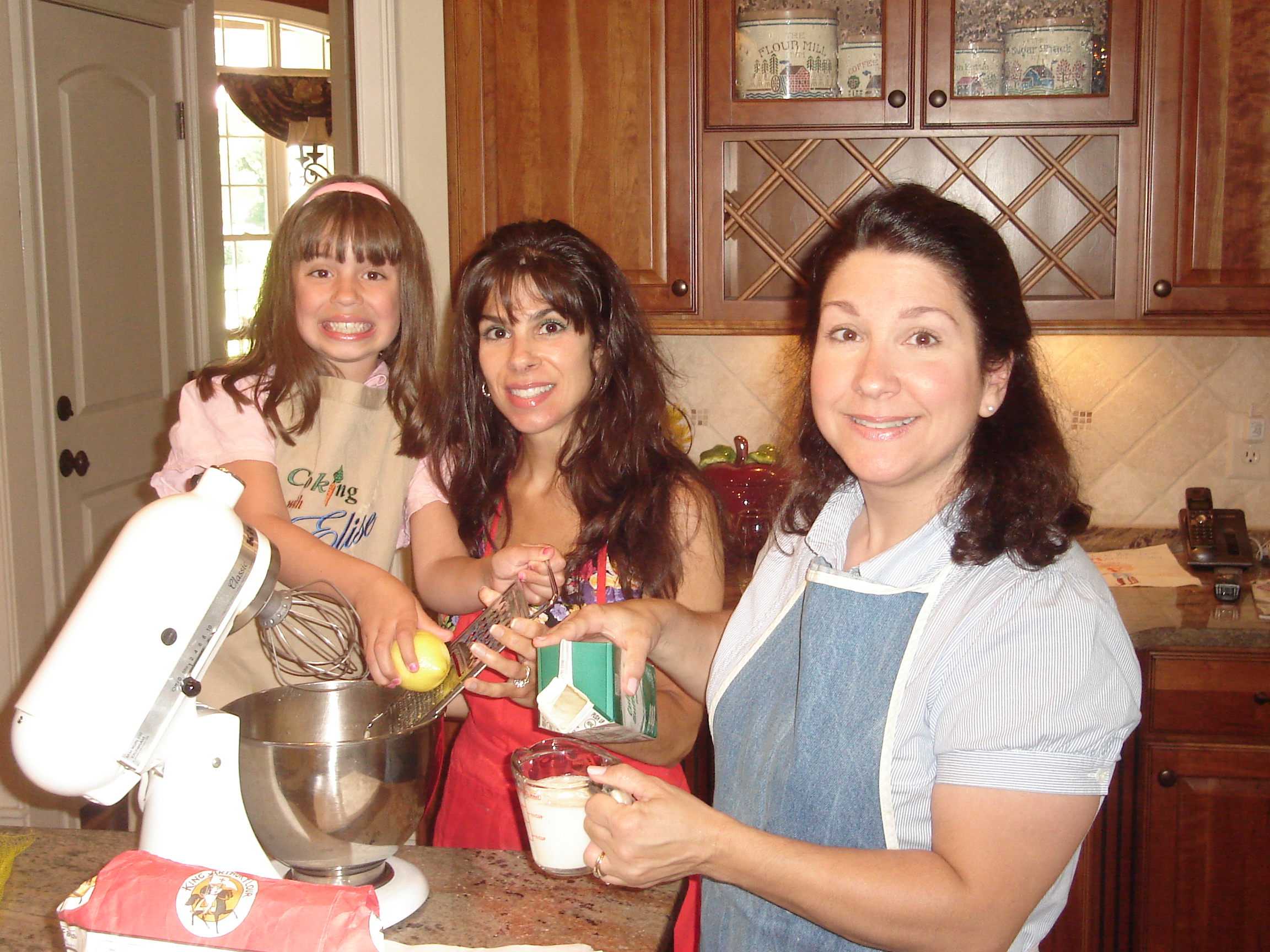 Baking with April and Julia-Mike's Cake
