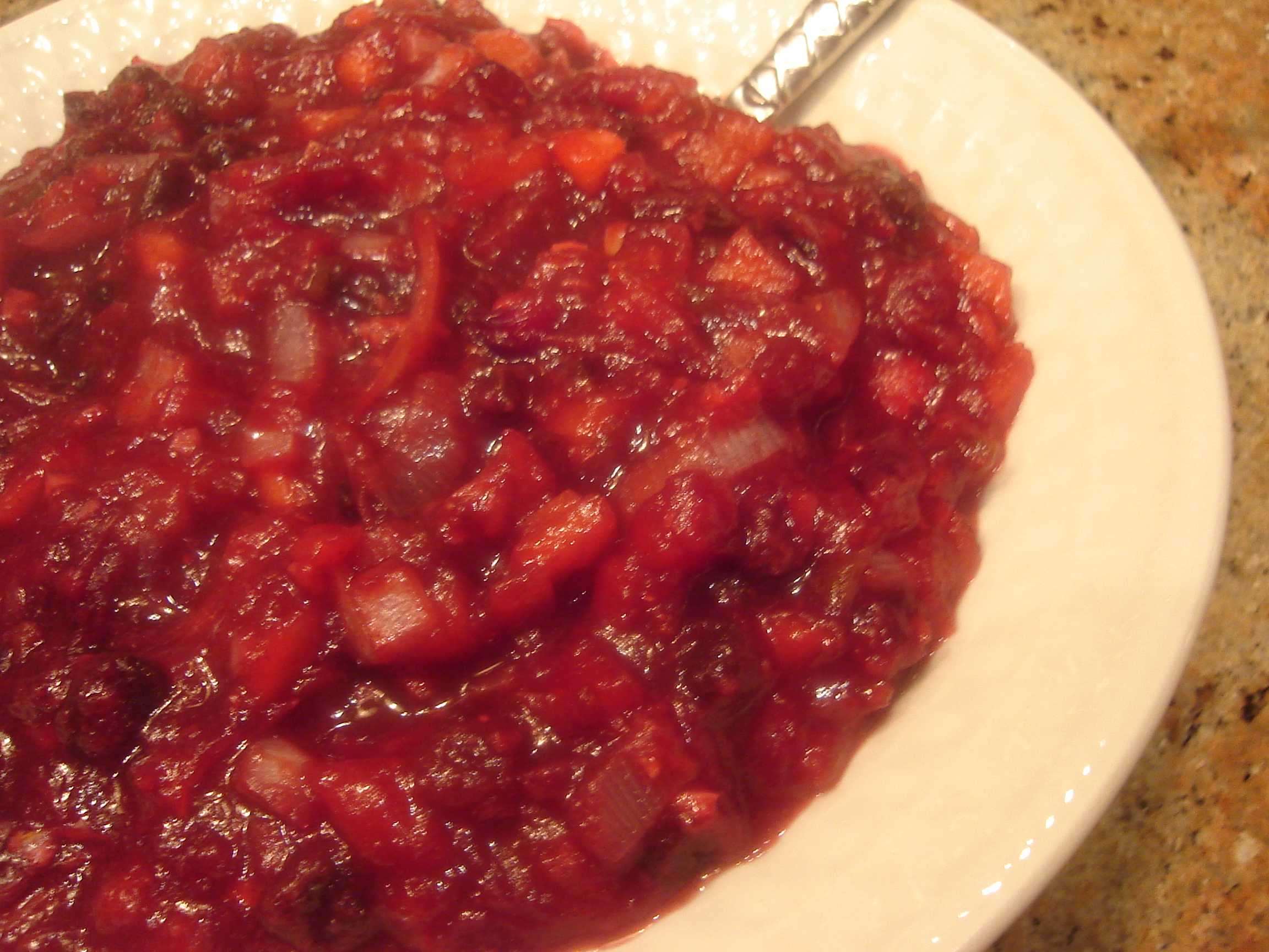 Home » Uncategorized » Cranberry Apple Chutney
