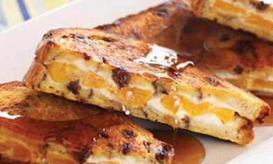 French Toast with Orange Marmalade