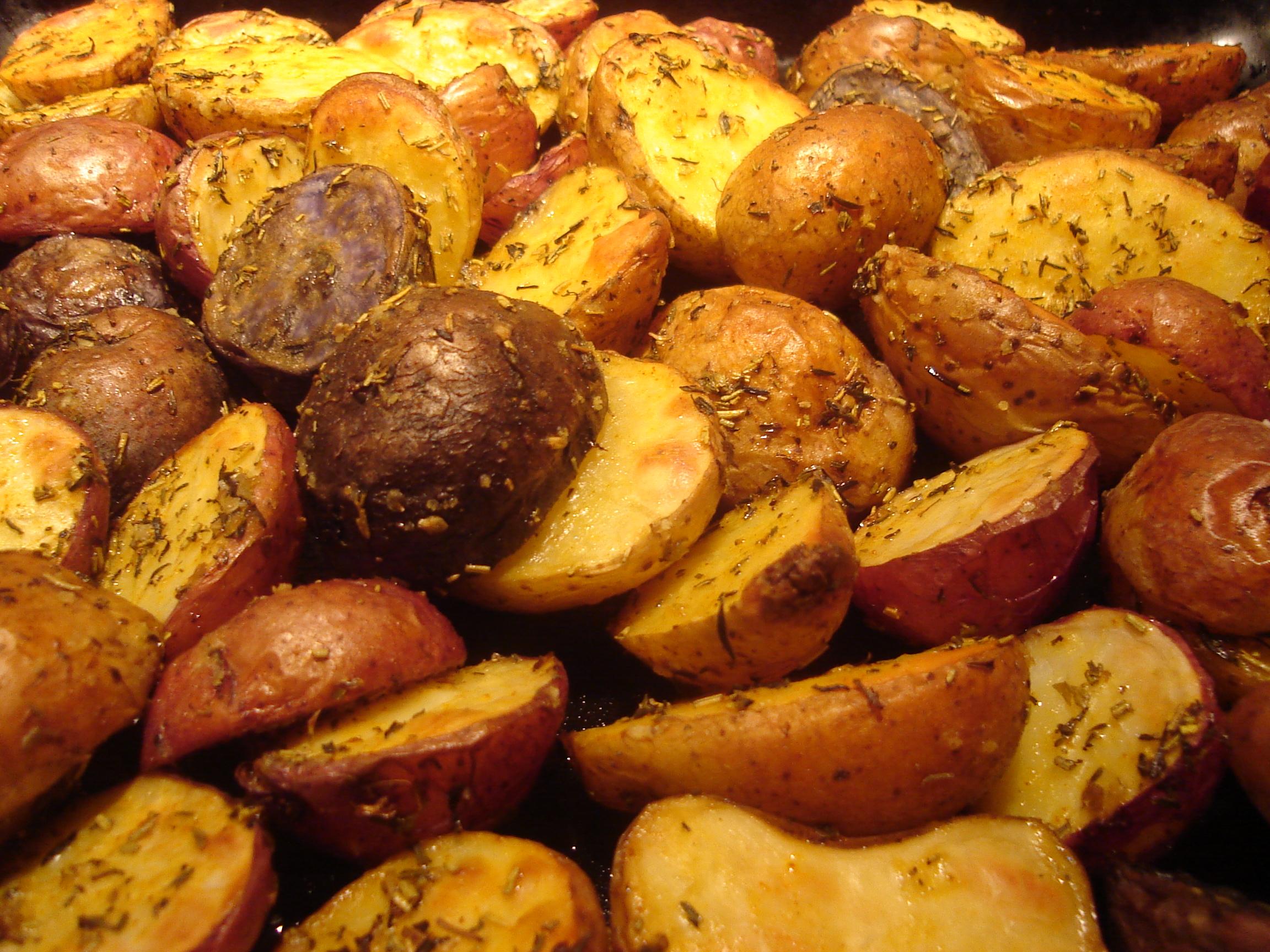 Bbc Food Garlic Roasted Potatoes