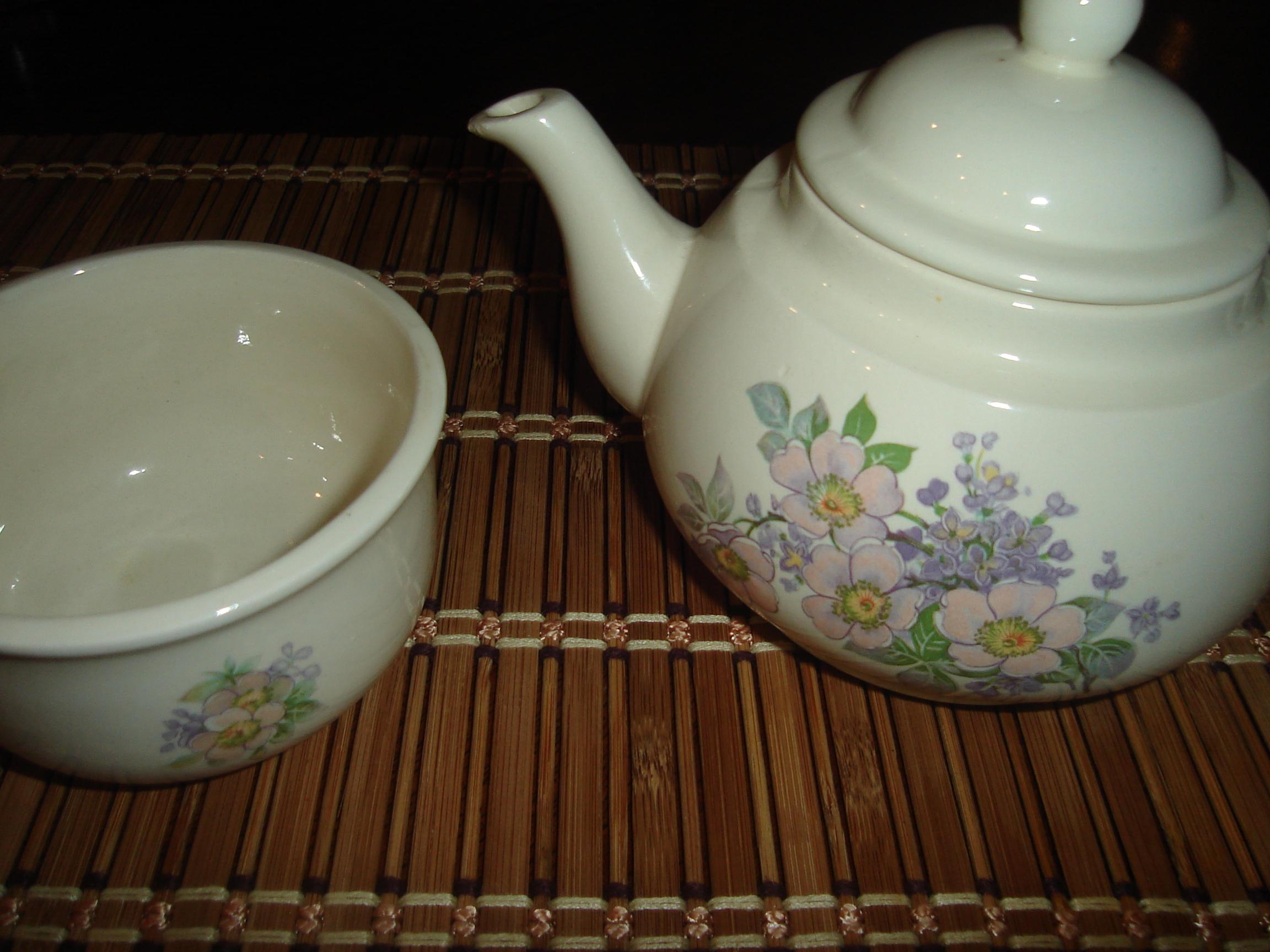 Grandma Mildred's Tea Pot