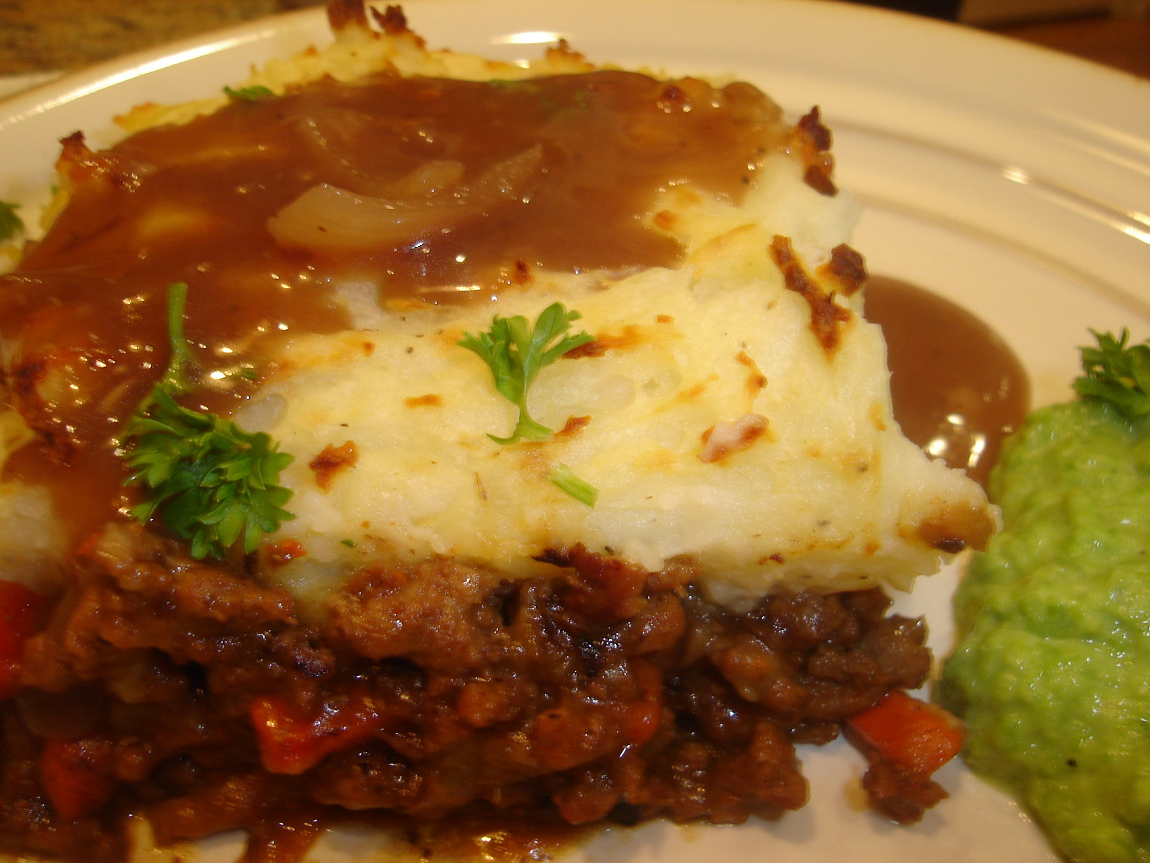 Shepherd's Pie with Onion Gravy