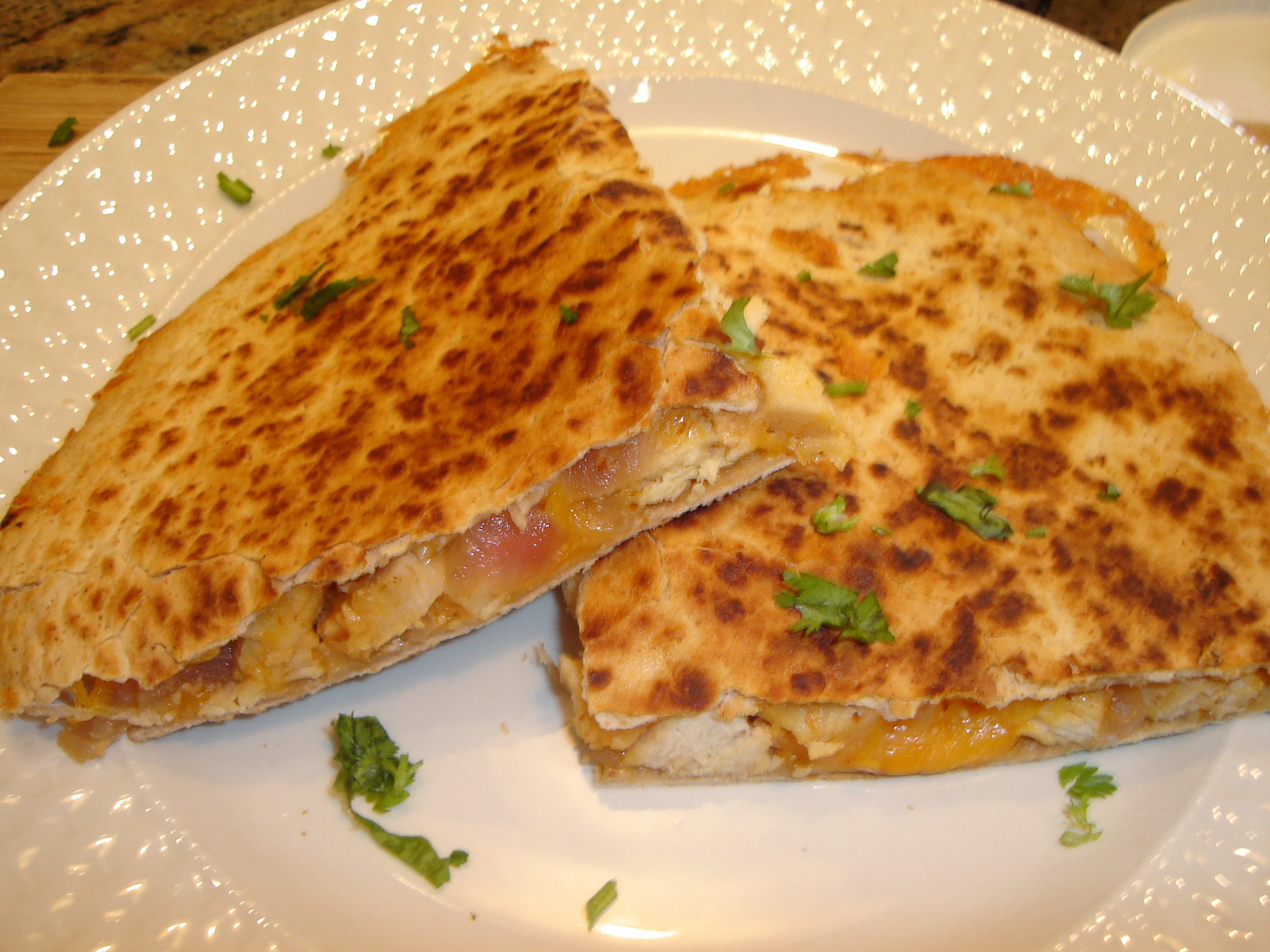 Chicken Quesadillas 001