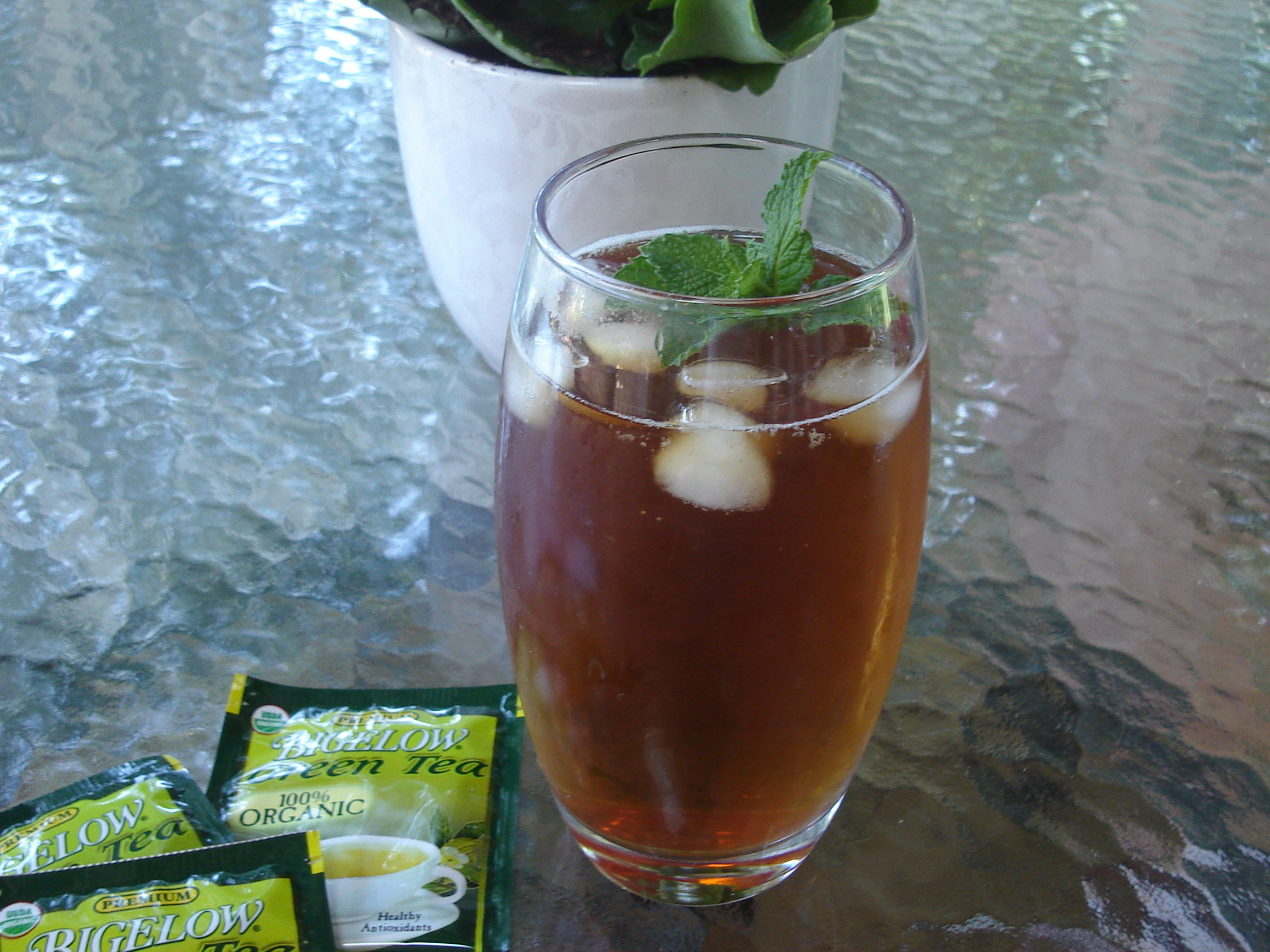 Iced Green Tea