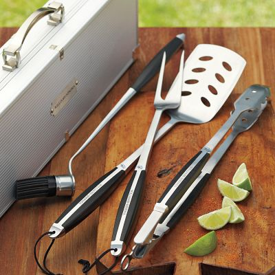 Williams and Sonoma Monogrammed Grill Set