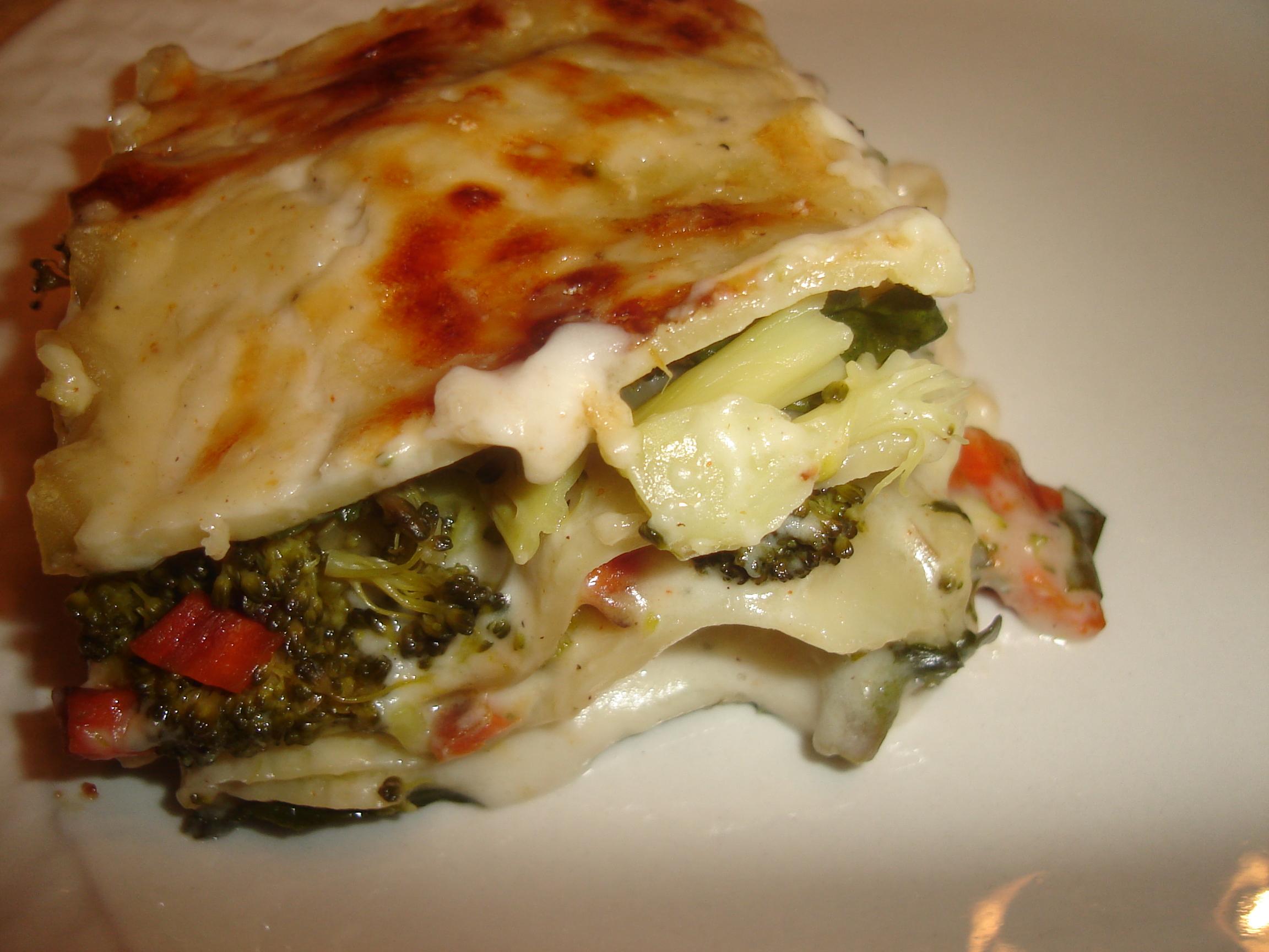 Roasted Vegetable Lasagna 007