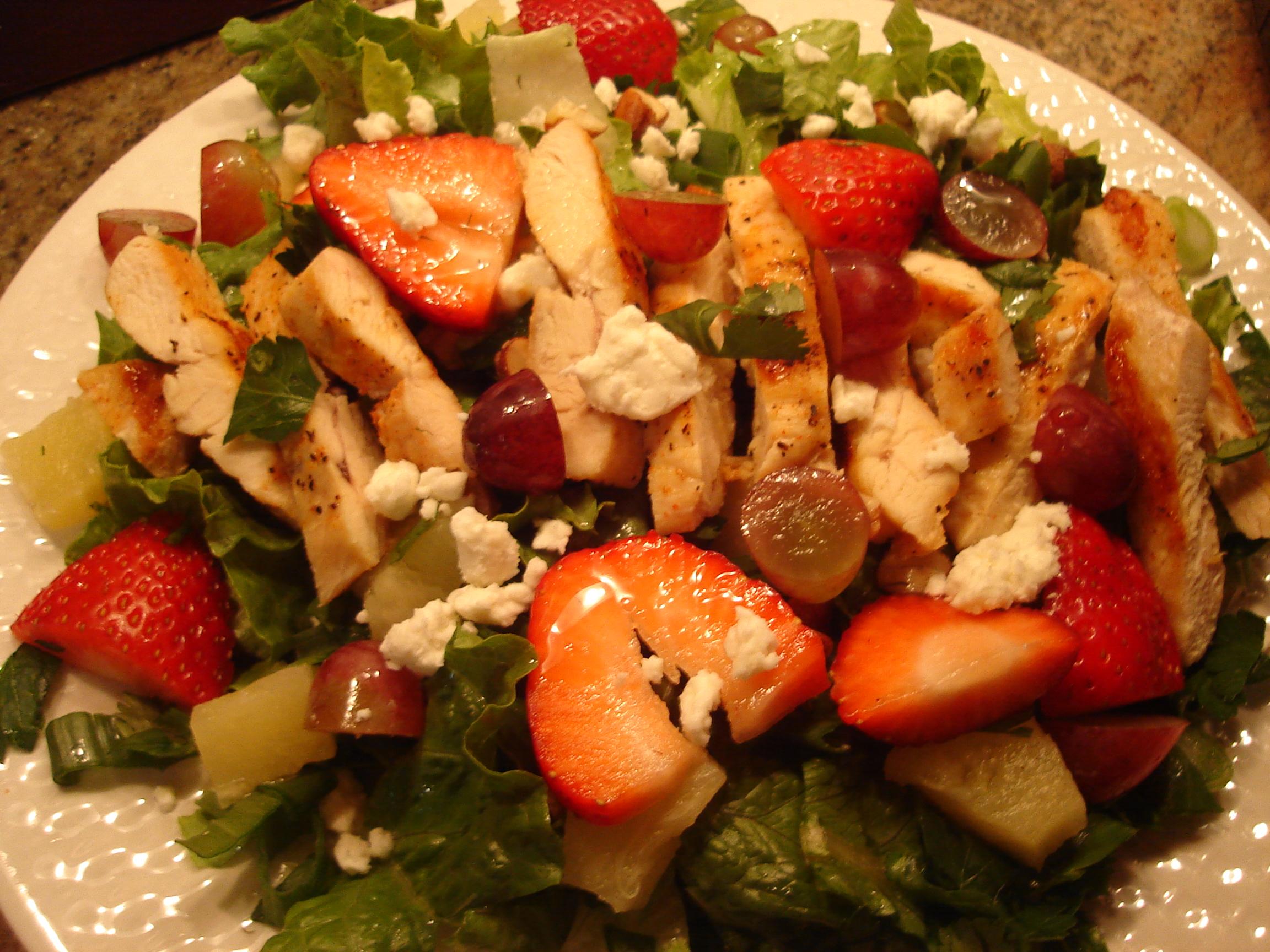 Arsenal scotland fresh fruit salad dressing fruit salad for Decoration salade