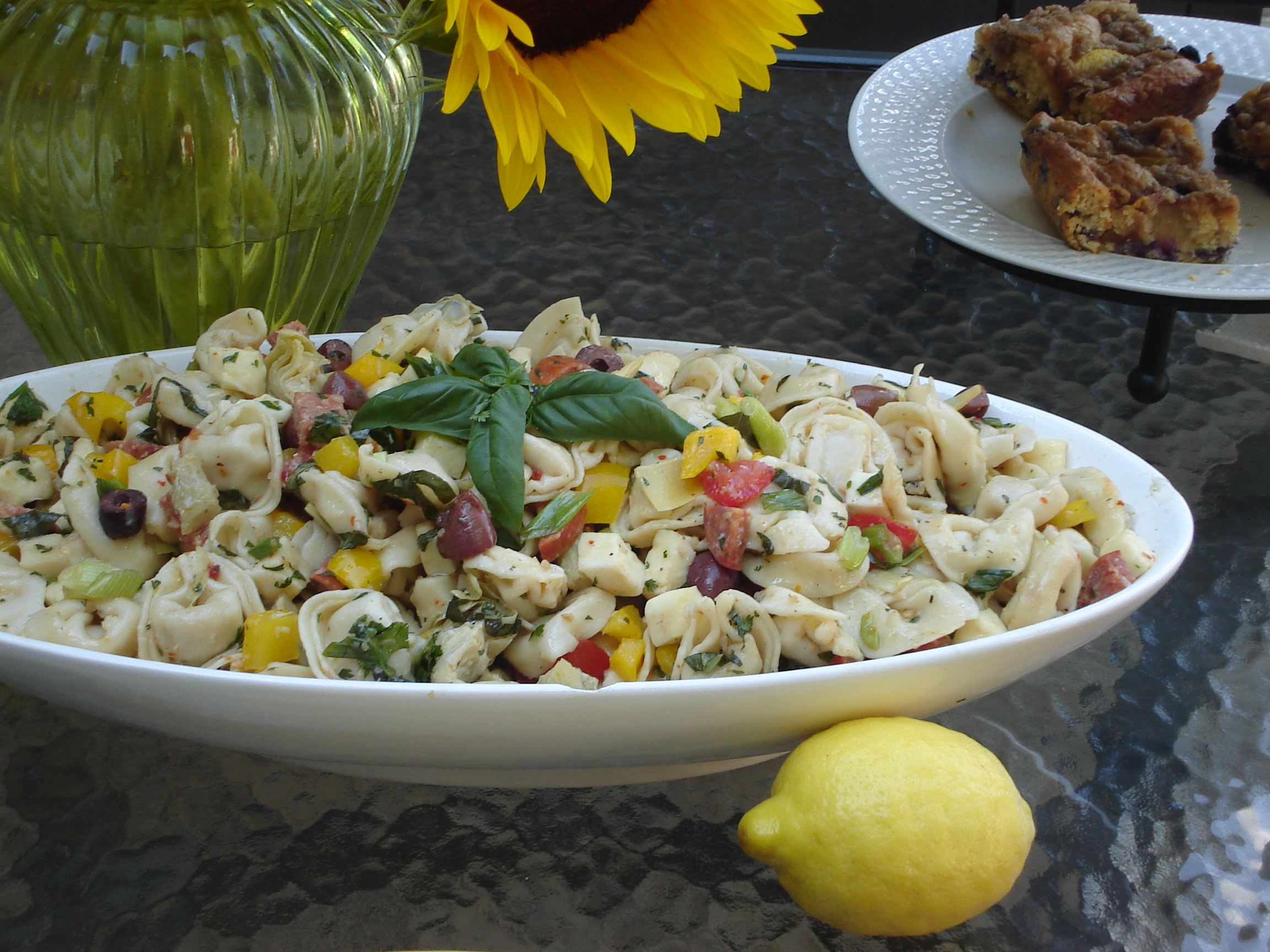Home » Recipes » Sides » Kid-Friendly Side: Zesty Tortellini Salad
