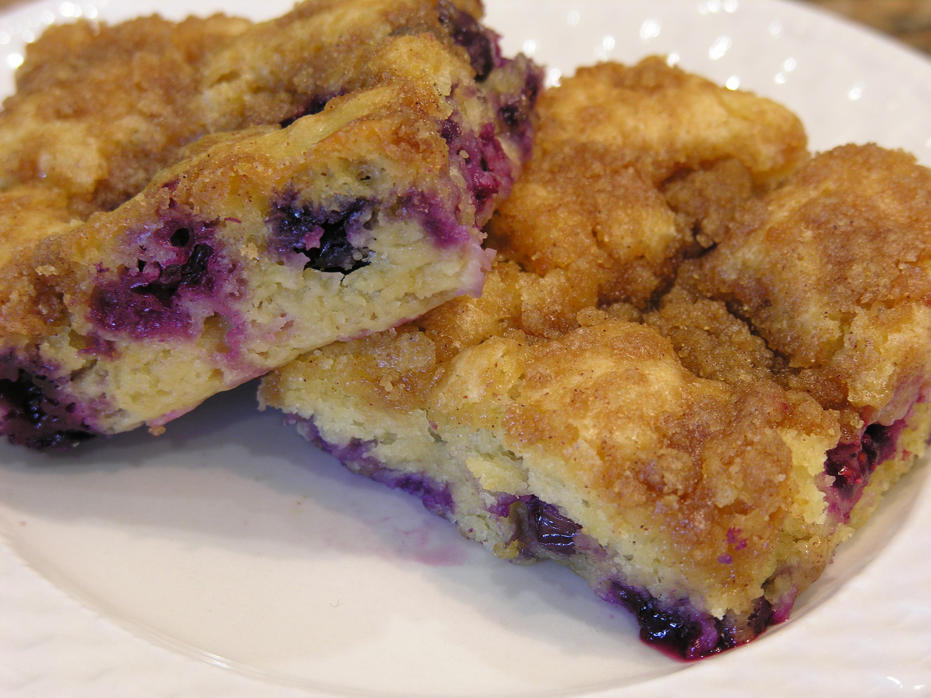 Blueberry Buckle II