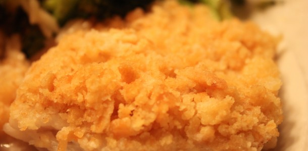 Cooking With Elise – Baked Cod with Ritz Cracker Crumb Topping